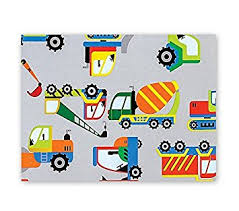 discount wrapping paper trucks boys big rig gift wrapping paper roll 24 x