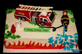 firetruck cakes truck cake baked in heaven