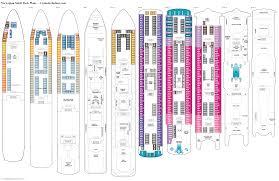 carnival sunshine floor plan norwegian spirit deck 9 deck plan tour