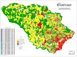 map use howard county map bin
