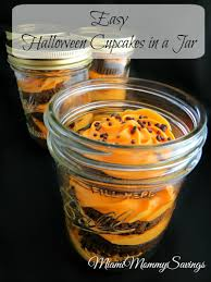 Easy Halloween Cup Cakes by Easy Halloween Cupcakes In A Jar Recipe Cleverly Me South