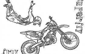 dirt bike coloring pages free coloring places visit