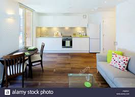 Interior Design Kitchen Living Room by One Church Square London Uk View Of An Open Plan Kitchen And