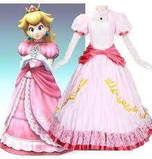 Princess Peach Halloween Costumes Buy Super Mario Costume Super Mario Bros Costumes Super Mario