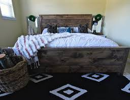 rugged home decor farmhouse fixer upper style bed turn your bed into a dreamy fixer
