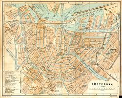 Holland Map Vintage Map Of Amsterdam It U0027s Free For Any Use The Image Is In