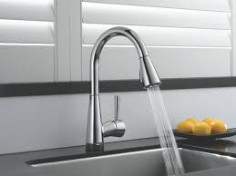 delta brushed nickel kitchen faucet kitchen makeovers touch on and kitchen faucet delta