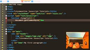 javascript tutorial head first javascript changing html elements youtube