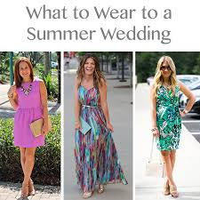 what to wear for a wedding what to wear to a summer wedding 3 x 3 ways the mix