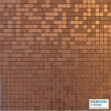 aluminum kitchen backsplash flexipixtile aluminum peel stick mosaic tile kitchen backsplash
