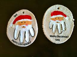 ornaments handprint ornaments or