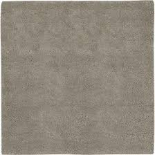 aros collection new zealand felted wool shag rug in feather grey