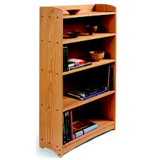 Building Wood Bookcases by Build An Oak Bookcase Startwoodworking Com