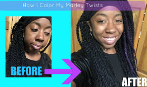 can you dye marley hair our little secret how to temporarily dye color marley twists