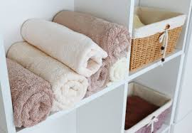 ingenious bath towel storage in your bathroom