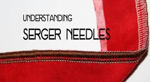 what needles can be used with a serger sewing parts online