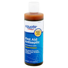 equate first aid antiseptic topical solution 8 fl oz walmart com