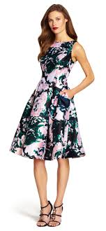fit and flare dress papell mikado sleeveless fit and flare dress lush