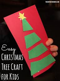 Holiday Craft Ideas For Children - christmas scissor crafts for kids oh christmas tree