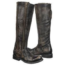 womens boots distressed leather cowboy boots