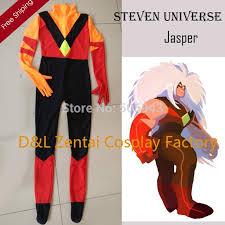 Catsuit Halloween Costumes Dhl Steven Universe Jasper Costume Lycra Spandex Catsuits