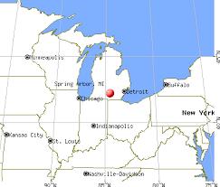map of arbor arbor michigan mi 49283 profile population maps