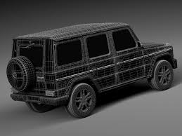 mercedes benz g class rebusmarket high quality 3d models