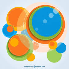 imagenes abstractas con circulos fondo con círculos abstractos de colores descargar vectores gratis