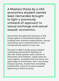the cost of sexual assault at usc u2013 neon tommy u2013 medium