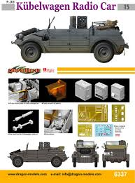 land rover italeri kubelwagen radio car dragon 6337
