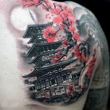 25 beautiful japanese temple tattoo ideas on pinterest full arm