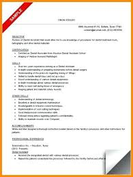 Dental Assistant Resume Sample Sample Of Dental Assistant Resume Dental Assistant Cover Letter
