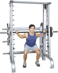 amazon com inflight fitness counter balanced smith machine
