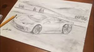 ferrari 458 sketch ferrari 458 speciale drawing time lapse youtube