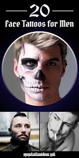 face tattoos for men ideas and designs for guys