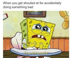 Sad Spongebob Meme - crying good lol meme school spongebob image 2483138 by