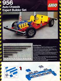 lego technic car lego car chassis instructions 956 technic