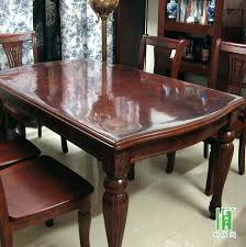 glass top to protect wood table side table made from old books tutorial home glass dining table top