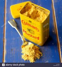 coleman s mustard mustard powder colman s mustard stock photo 13826012 alamy
