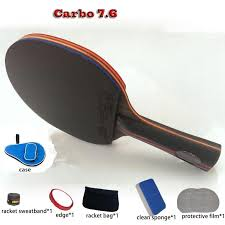 professional table tennis racket wholesale table tennis racket wrb 7 6 pat set 6 free gifts long