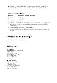 Plumbing Supervisor Resume Sample Plumbing Resume Sample Master Plumber Resume Example Master