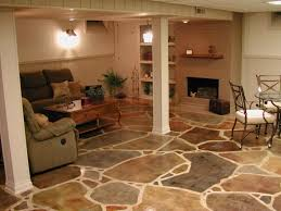 bold inspiration tiling on concrete floor basement laying tile