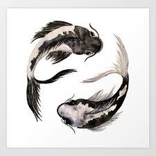 yinyang art prints society6