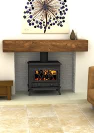 wood burning stove fireplace home interior design simple wonderful