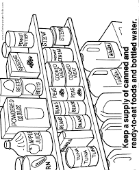 amazing ideas food safety coloring pages health and safety color
