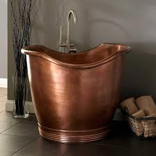 don u0027t let your small bathroom hold you back tubs antique copper