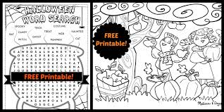 printable halloween activities u2013 festival collections