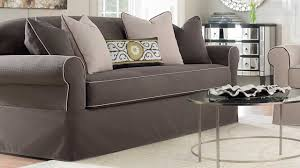 Sure Fit Dual Reclining Sofa Slipcover by Couch Slipcovers Cheap Couch Slipcovers Walmart Walmart Couch