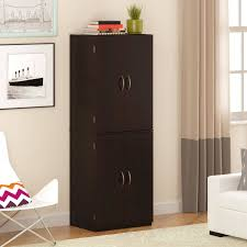 Bathroom Storage Cabinets With Doors Mainstays Storage Cabinet Finishes Walmart