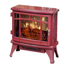 duraflame 8511 cinnamon infrared electric fireplace stove with